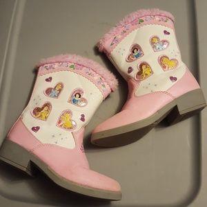 Light up Disney princess boots
